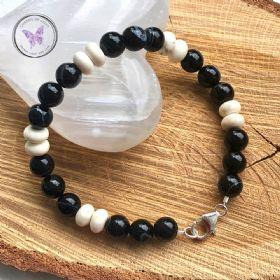 Men's Sardonyx & Magnesite Bracelet